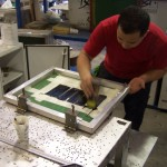 silk screen process for electrical enclosures step 4