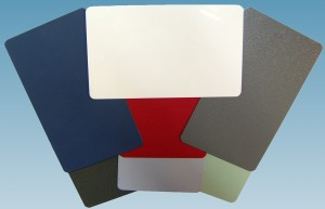 Samples of Powder Coating