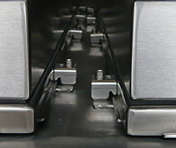 2 Door Center Post Continuous Hinge Clamp Enclosure