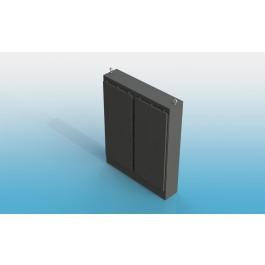Floor Mount Two Door Type 4 w/ Back Panel 74 X 60 X 12