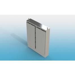 Floor Mount Two Door Type 4X w/ Back Panel 74 X 60 X 18