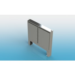 Floor Mount Two Door Type 4X w/ Back Panel 74 X 60 X 12