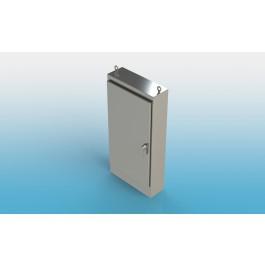 Floor Mount Single Door Type 4X w/ Back Panel 72 X 30 X 24