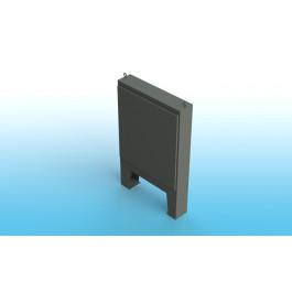 Floor Mount Single Door Type 4 w/ Back Panel 60 X 24 X 24