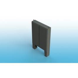 Free Standing w/Leg Kit Two Door Type 4 w/Back Panel 62 X 60 X 10