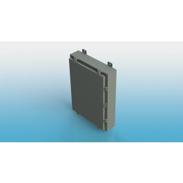 Wall-Mount Type 4 Enclosure,W/Back Panel 16x12x8