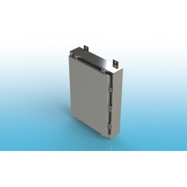 Wall-Mount Type 4X Enclosure,W/Back Panel 16x16x6