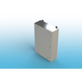 Wall-Mount Type 4X Enclosure,W/Back Panel 16x12x6