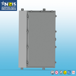 Wall Mount ATEX & IECEx Ex e Enclosure, W/ Back Panel 30 x 30 x 8