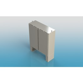 Free Standing w/Leg Kit Two Door Type 4X w/Back Panel 74 X 72 X 16