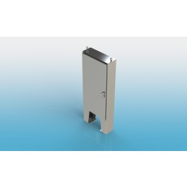 Free Standing w/Leg Kit Single Door Type 4X w/Back Panel 72 X 36 X 24