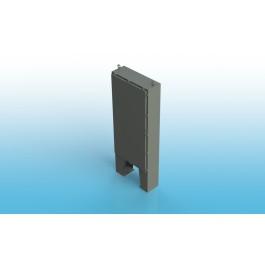 Free Standing w/Leg Kit Single Door Type 4 w/Back Panel 72 X 42 X 16