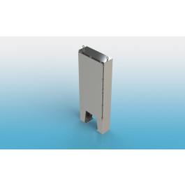 Free Standing w/Leg Kit Single Door Type 4X w/Back Panel 72 X 42 X 16