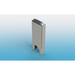 Free Standing w/Leg Kit Single Door Type 4X w/Back Panel 72 X 36 X 12