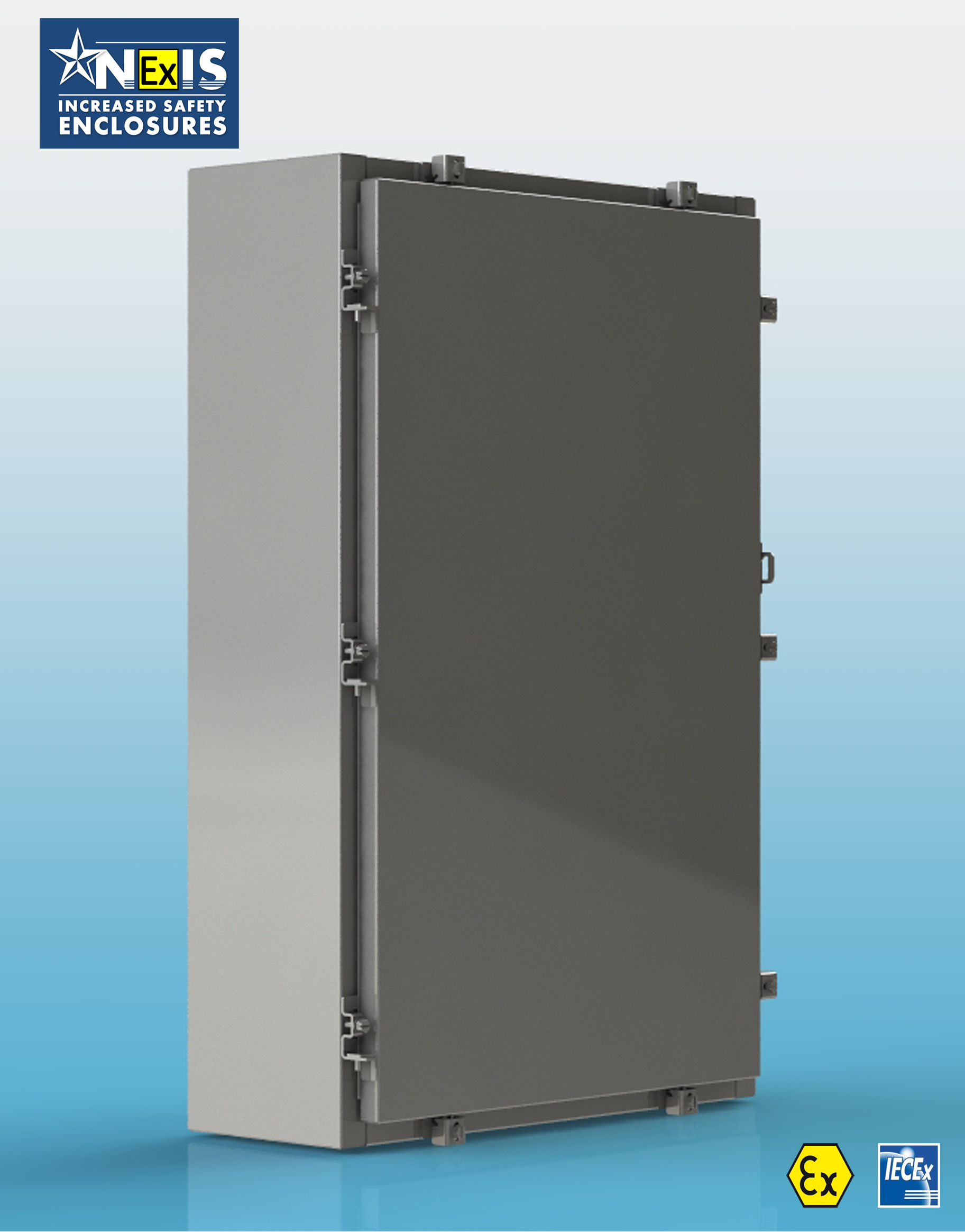 ATEX and IECEX certified enclosure