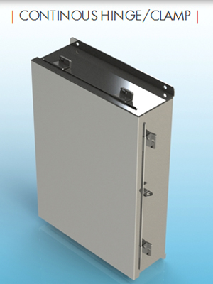 "14/"" X 12/"" X 6/"" Industrial Stainless Steel Enclosure Junction Box"